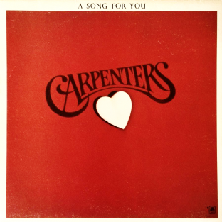 Carpenters ‎- A Song For You (LP) (G+/G++)